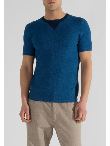 T-shirt with contrasting detail