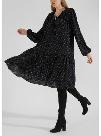 Viscose boho style dress