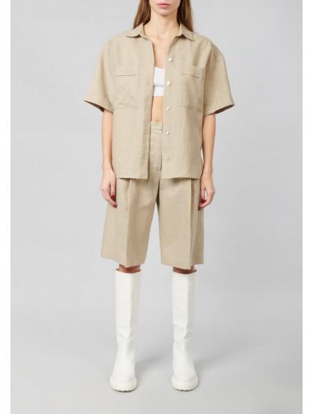 Loose Linen Shirt