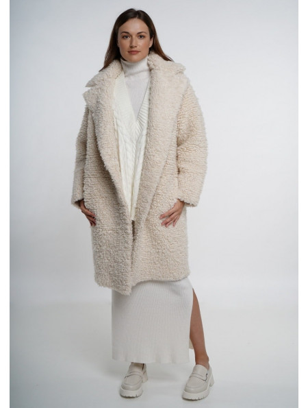 Off-White Knitted Coat