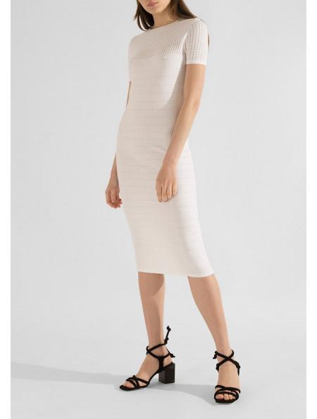 Stabilized viscose dress