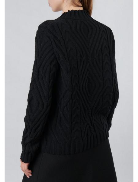 Half Wool Sweater
