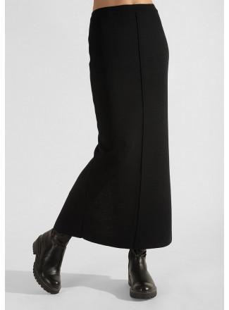 Long straight skirt