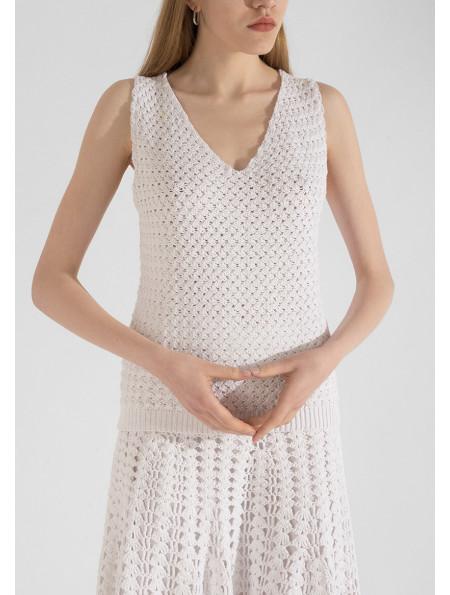 Cotton Knit Top