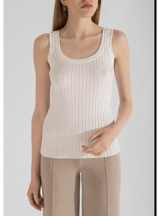 Knitted Viscose Top