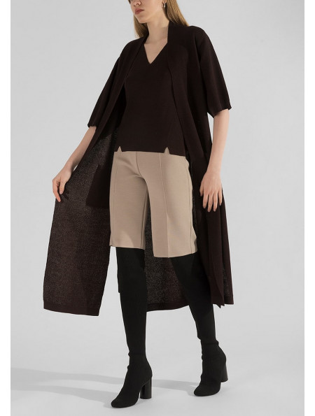 Knitted Viscose Shorts