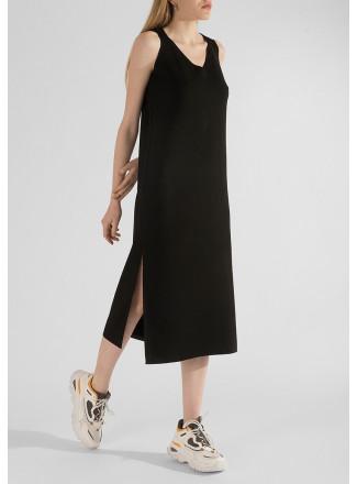 Knitted viscose dress