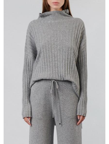 Cashmere and merino jumper