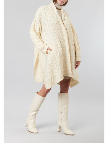 Knitted coat