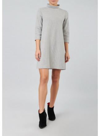 A-line Knit Dress