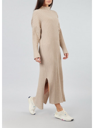 Wool And Cashmere Long Dress
