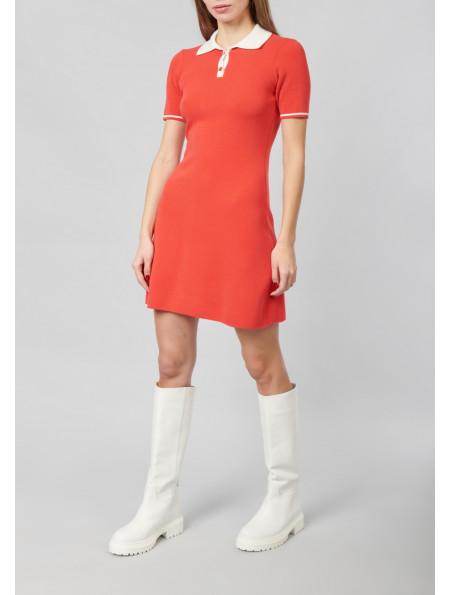 Soft Viscose Polo Dress