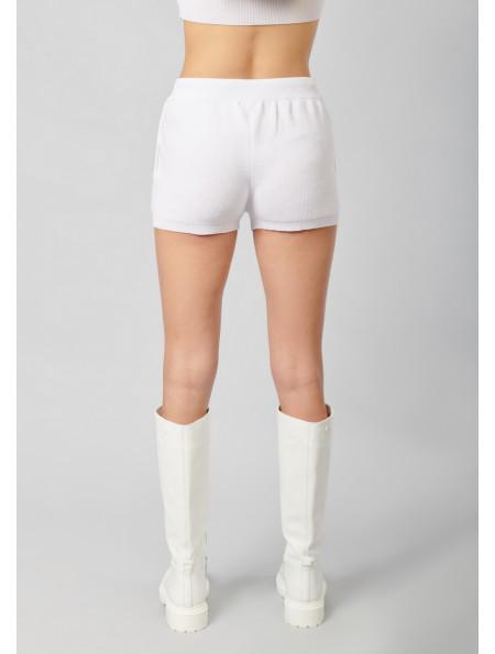 Knit Ribbed Shorts