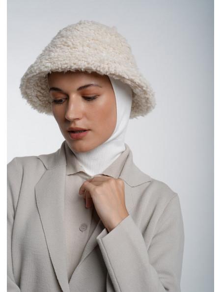 Beige Knitted Blazer