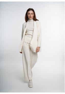 Off-White Knitted Blazer