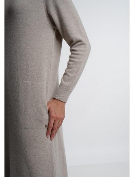 Beige Maxi Dress