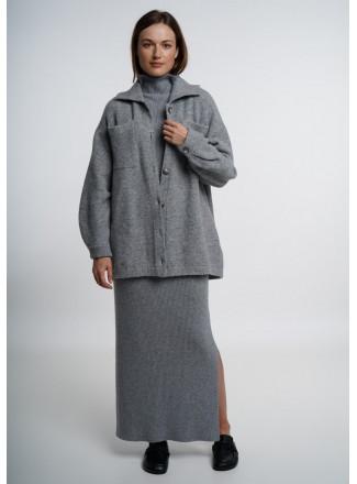 Grey Shirt Jacket